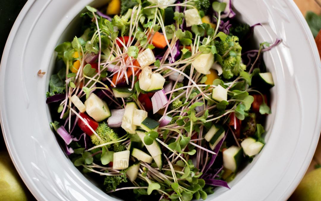 Woodstock Peace Salad (Kris Carr)
